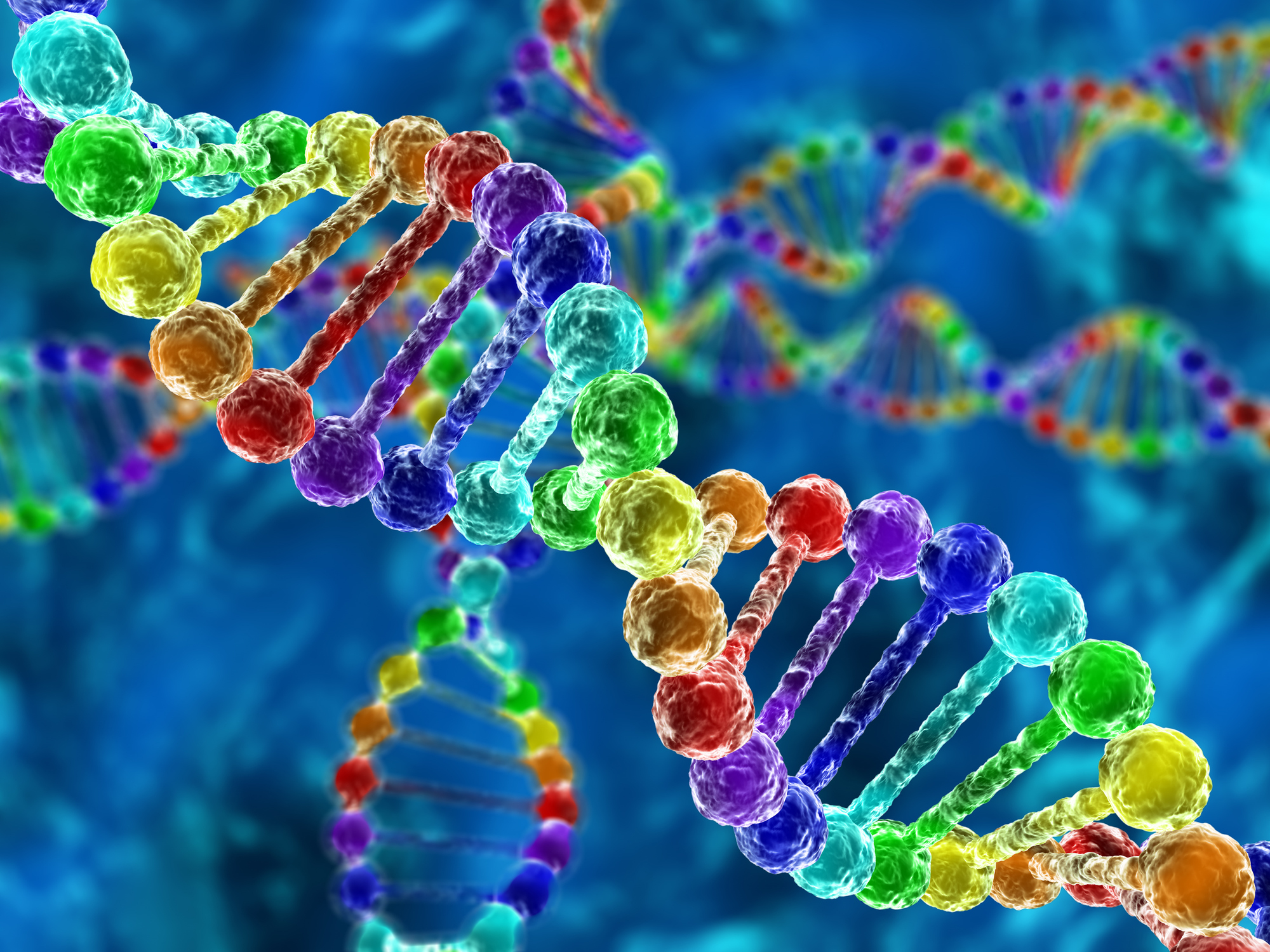 photo of DNA